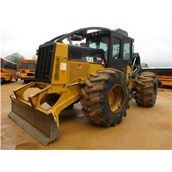 2013 CAT 525C SKIDDER, VIN/SN:52501867 - GRAPPLE, DUAL ARCH, WINCH, ECAB W/AIR, 30.5L-32 TIRES, METE