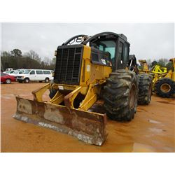 2011 CAT 525C SKIDDER, VIN/SN:52501204 - DUAL ARCH, ECAB W/AIR, 30.5L-32 TIRES, METER READING 10,752