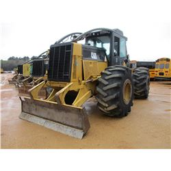 2007 CAT 525C SKIDDER, VIN/SN:00388 - GRAPPLE, DUAL ARCH, WINCH, ECAB W/AIR, 30.5R-32 TIRES, METER R