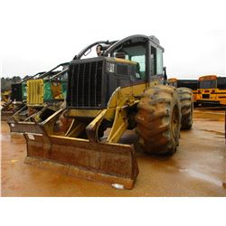 2005 CAT 525B SKIDDER, VIN/SN:3KZ01994 - GRAPPLE, DUAL ARCH, ECAB W/AIR, 30.5L-32 TIRES, METER READI