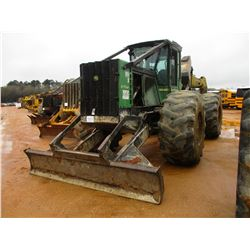 2006 JOHN DEERE 648GII SKIDDER, VIN/SN:605994 - SINGLE ARCH, WINCH, ECAB, 30.5-32 TIRES, METER READI