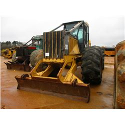 2003 JOHN DEERE 648G III SKIDDER, VIN/SN:588701 - GRAPPLE, SINGLE ARCH, WINCH, ECAB W/AIR, 30.5L-32