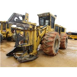 2011 TIGERCAT 724E FELLER BUNCHER, VIN/SN:7242062 - TIGERCAT SAW HEAD, ECAB W/AIR, 30.5-32 TIRES, ME