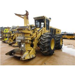 2015 TIGERCAT 720G FELLER BUNCHER, VIN/SN:7205636 - 5702 SAW HEAD, ECAB W/AIR, 30.5-32 TIRES, METER