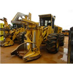 2015 TIGERCAT 720G FELLER BUNCHER, VIN/SN:7205697 - TIGERCAT DW5603 SAW HEAD, ECAB W/AIR, 28L-26 TIR