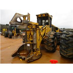 2012 TIGERCAT 720E FELLER BUNCHER, VIN/SN:7205090 - TIGERCAT DX5603 SAW HEAD, ECAB W/AIR, METER READ
