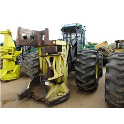 2012 JOHN DEERE 643K FELLER BUNCHER, VIN/SN:643857 - JOHN DEERE SAW HEAD, ECAB W/AIR, 30.5L-32 TIRES