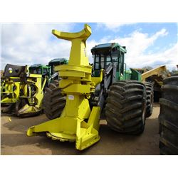 2011 JOHN DEERE 643K FELLER BUNCHER, VIN/SN:629685 - FD22 SAW HEAD, ECAB W/AIR, 66X43-25 TIRES, METE