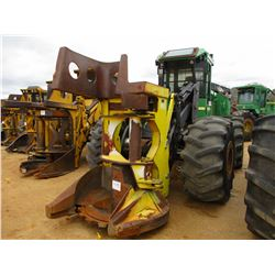 2009 JOHN DEERE 643J FELLER BUNCHER, VIN/SN:625148 - JOHN DEERE SAW HEAD, ECAB W/AIR, 28L-26 TIRES,