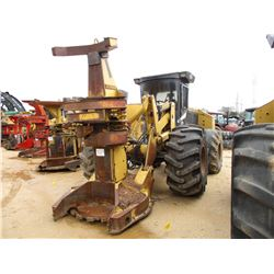 2000 HYDRO AX 570 FELLER BUNCHER, VIN/SN:7764 - KOEHRING WATEROUS SAW HEAD, ECAB W/AIR, 28L-26 TIRES