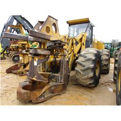 2000 JOHN DEERE 643H FELLER BUNCHER, VIN/SN:880107 - JOHN DEERE FB20 STEAR HEAD, ECAB W/AIR, 28L-26