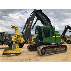 "2015 JOHN DEERE 803M FELLER BUNCHER, VIN/SN:284957 - FS22B SAW HEAD, 30"" PADS, AFEX FIRE SURPRESSION"