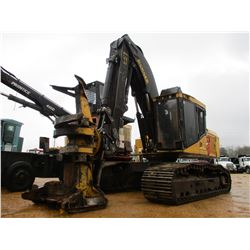 2006 TIGERCAT 860C FELLER BUNCHER, VIN/SN:11796 - TRACK MTD, TIGERCAT ROTATING CENTER POST SAW HEAD,