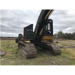 "2003 CAT 322LL SHOVEL LOADER, VIN/SN:SLX00201 - JEWEL GRAPPLE, 36"" TBG, HD U/C, LIVE HEEL, ECAB W/AI"