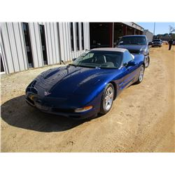 2004 CHEVROLET CORVETTE, VIN/SN:1GAYY32G845100016 - V8 GAS ENGINE, 6 SPEED TRANS