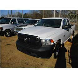 2014 DODGE RAM 1500 PICK UP, VIN/SN:1C6RR6FGXS5350372 - CREW CAB, V8 GAS ENGINE, A/T, ODOMETER READI