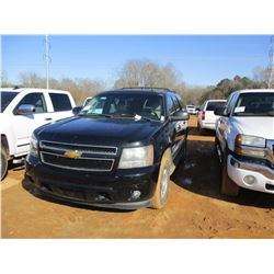 2008 CHEVROLET TAHOE VIN/SN:1GNFK13098R175125 - V8 GAS ENGINE, A/T, ODOMETER READING 215,916 MILES