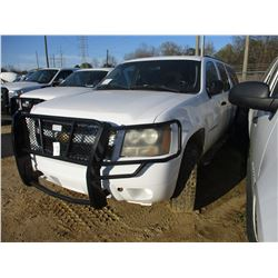2007 CHEVROLET SUBURBAN VIN/SN:3GNGK2K47G282668 - 4X4, V8 GAS ENGINE, A/T, ODOMETER READING 192,996