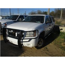 2007 CHEVROLET SUBURBAN VIN/SN:2GNGK26K07G283753 - 4X4, V8 GAS ENGINE, A/T, ODOMETER READING 161,370