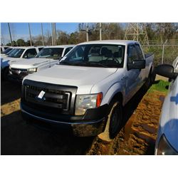 2014 FORD F150 XL PICKUP, VIN/SN:1FTFX1EF3EKF56033 - 4X4, EXT CAB, V8 GAS ENGINE, A/T, ODOMETER READ