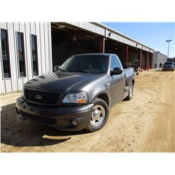 2004 FORD LIGHTENING ROAD HAWK PICKUP, VIN/SN:2FTRF07334CA67647 - V8 GAS ENGINE, A/T, ODOMETER READI