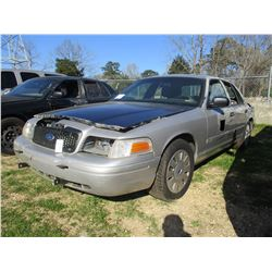 2006 FORD CROWN VICTORIA, VIN/SN:2FAHP71W66X147238 - V8 GAS ENGINE, A/T (STATE OWNED)