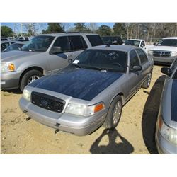 2010 FORD CROWN VICTORIA VIN/SN:2FABP7BV2AX106593 - V8 GAS ENGINE, A/T (STATE OWNED)