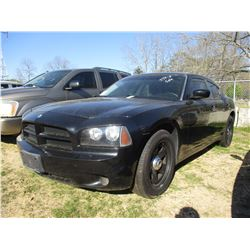 2010 DODGE CHARGER VIN/SN:2B3AA4CT9AH117508 - V8 GAS ENGINE, A/T, ODOMETER READING 191,793 MILES (ST