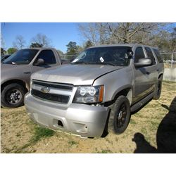 2009 CHEVROLET TAHOE, VIN/SN:1GNEC03059R263741 - V8 ENGINE, A/T (STATE OWNED)
