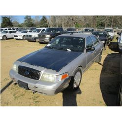 2010 FORD CROWN VICTORIA, VIN/SN:2FABP7BV5AX106622 - V8 GAS ENGINE, A/T (STATE OWNED)
