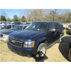 2007 CHEVROLET TAHOE VIN/SN:1GNFK03027R369827 - V8 GAS ENGINE, A/T (STATE OWNED)