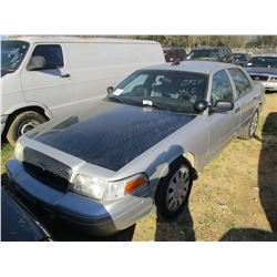 2009 FORD CROWN VICTORIA VIN/SN:2FAHP71V69X100660 - V8 GAS ENGINE, A/T (STATE OWNED)
