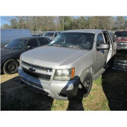 2008 CHEVROLET TAHOE VIN/SN:1GNEC03018R128674 - V8 GAS ENGINE, A/T (STATE OWNED)