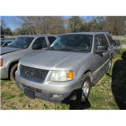 2006 FORD EXPEDITION VIN/SN:1FMPU15536LA67207 - V8 GAS ENGINE, A/T (STATE OWNED)
