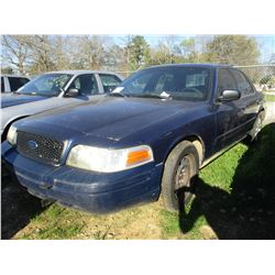2006 FORD CROWN VICTORIA, VIN/SN:2FAHP71W56X143553 - V8 GAS ENGINE, A/T (STATE OWNED)