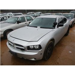 2010 DODGE CHARGER VIN/SN:2B3CA4CT1AH255052 - V8 GAS ENGINE, A/T (DOES NOT OPERATE) (STATE OWNED)