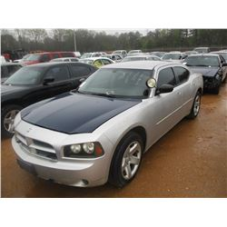 2007 DODGE CHARGER VIN/SN:2B3LA43H17H644584 - V8 GAS ENGINE, A/T (STATE OWNED)