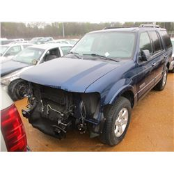 2008 FORD EXPEDITION XLT VIN/SN:1FMFU15538LA55444 - V8 ENGINE, A/T (DOES NOT RUN) (STATE OWNED)