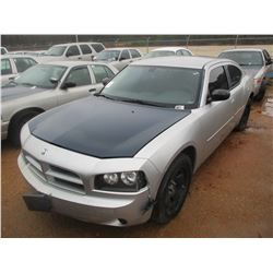 2010 DODGE CHARGER VIN/SN:2B3AA4CT4AH292037 - V8 ENGINE, A/T (DOES NOT RUN) (STATE OWNED)