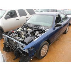 2003 FORD POLICE INTERCEPTOR, VIN/SN:2FAHP71W93X210747 - V-8 ENGINE, A/T (DOES NOT RUN) (STATE OWNED