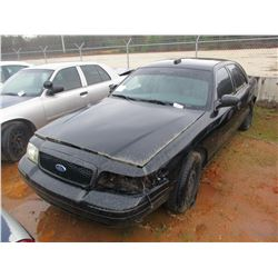 2008 FORD POLICE INTERCEPTOR, VIN/SN:2FAHP71V28X161048 - V8 ENGINE, A/T (DOES NOT RUN) (STATE OWNED)