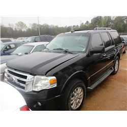 2011 FORD EXPEDITION VIN/SN:1FMJU1H56BEF29095 - V8 GAS ENGINE, A/T (STATE OWNED)