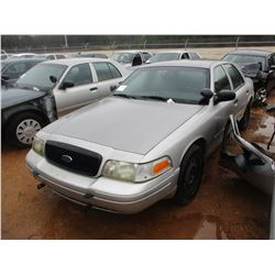 2007 FORD CROWN VICTORIA VIN/SN:2FAHP71W57X145059 - V8 GAS ENGINE, A/T (DOES NOT OPERATE) (STATE OWN