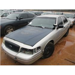 2006 FORD CHARGER VIN/SN:2FAHP71W66X147255 - V8 GAS ENGINE, A/T (DOES NOT OPERATE) (STATE OWNED)
