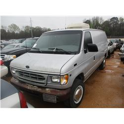 2001 FORD E250 VAN, VIN/SN:1FTNE24L11HA48259 - V8 GAS ENGINE, A/T (STATE OWNED) (TITLE DELAY)