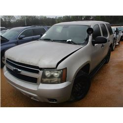 2007 CHEVROLET TAHOE VIN/SN:1GNEC03067R347077 - V8 ENGINE, A/T (DOES NOT RUN) (STATE OWNED)