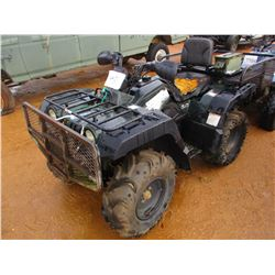 YAMAHA GRIZZLEY 600 4 WHEELER, VIN/SN:JY4AJ02W6YA021538 - WINCH, REAR BASKET (DOES NOT OPERATE) (STA