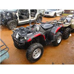 YAMAHA ATV, VIN/SN:JY4AM03Y65C060122 - 4X4, WINCH (DOES NOT RUN) (STATE OWNED)