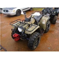 YAMAHA BIG BEAR 350 4 WHEELER, VIN/SN:A054772 - 4X4 (DOES NOT OPERATE) (STATE OWNED)