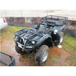 YAMAHA GRIZZLY 4 WHEELER, VIN/SN:JY4AM03Y850060557 - 4X4, WINCH, REAR BASKET (DOES NOT RUN ) (STATE